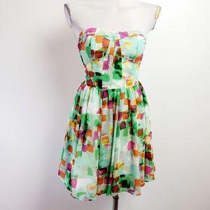 Guess strapless dress size 4